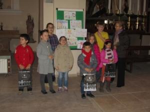 Participants del concurs Pinta el Nadal